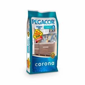 Pegacor Cerámico Gris x 25Kg Corona - 1