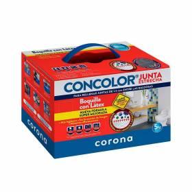 Concolor Junta Estrecha Antihongos Gris Claro Corona - 1