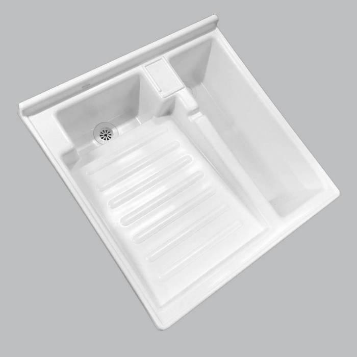 Lavadero Plastico De 60X60 Cms Con Tanque Silplas - 1