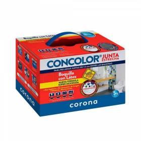Concolor Junta Estrecha Antihongos Tortora X 2KG Corona - 1