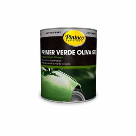 Primer anticorrosivo verde oliva 513 1/4 galón Pintuco - 1